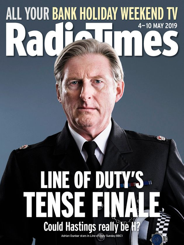 Line Of Duty's Adrian Dunbar Reveals The Inspiration Behind Hastings' Infamous