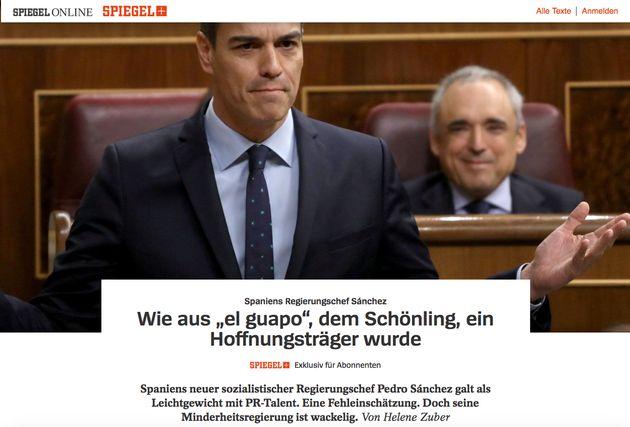 El titular de la prensa alemana sobre Pedro Sánchez que entenderás aunque no sepas nada de