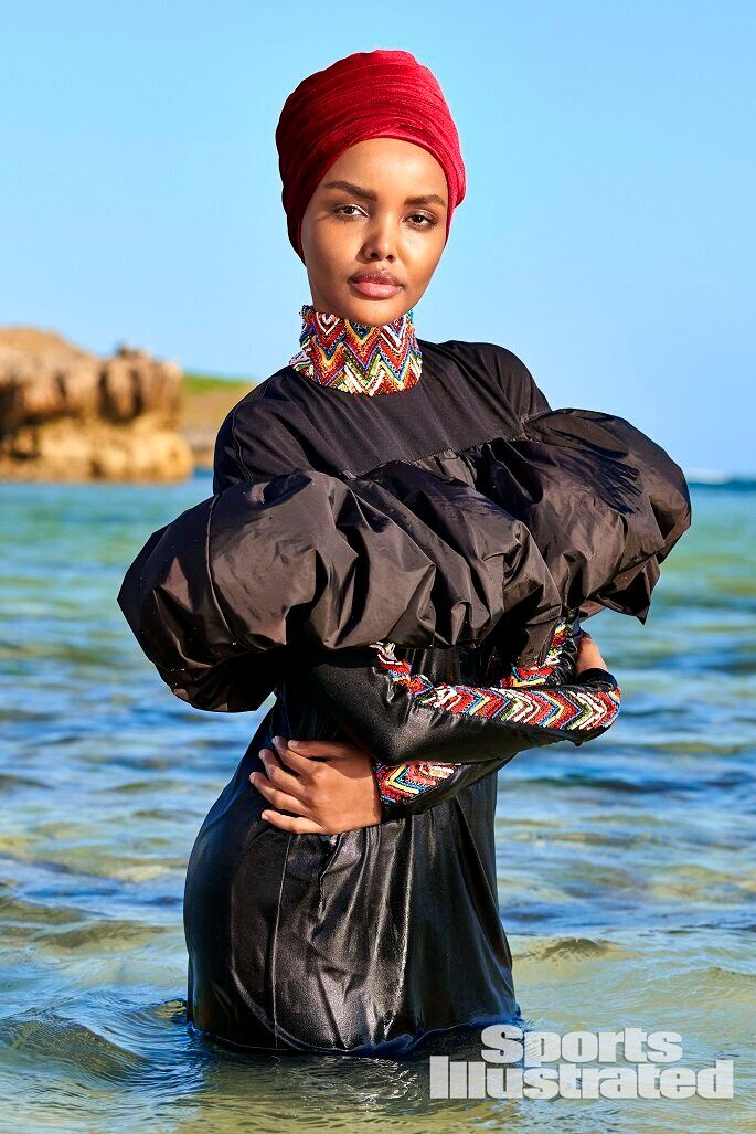 Halima Aden is the first model to ever appear in the iconic magazine issue wearing a hijab.