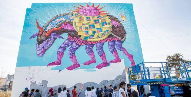 Jidar, le festival de street art qui colore Rabat