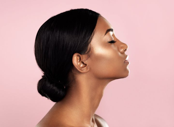 Image result for perfect highlighter skin