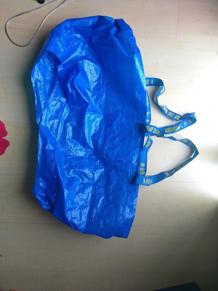 52a848c3684 You may already have one of these big blue Frakta shopping bags from Ikea  at home