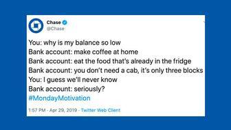Chase tweet