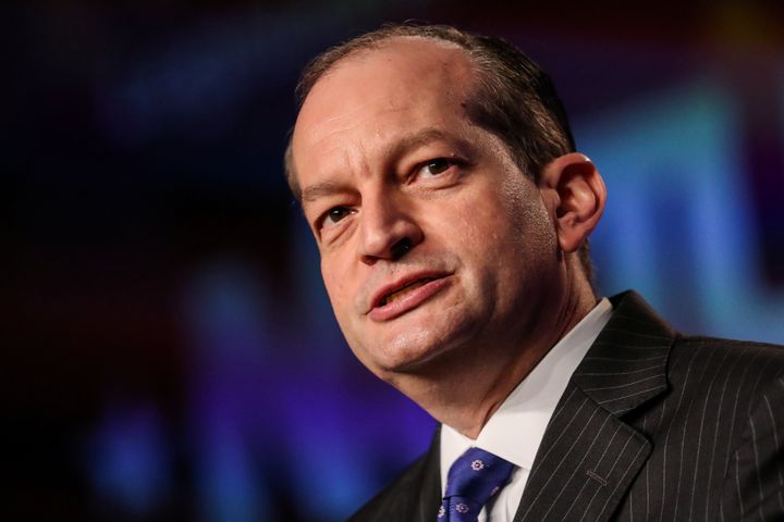 The Labor Department, headed by Secretary Alexander Acosta, issued a letter Monday detailing why it believes gig workers can