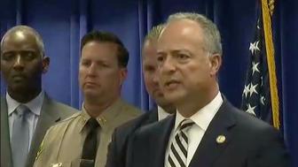 terror plot press conference
