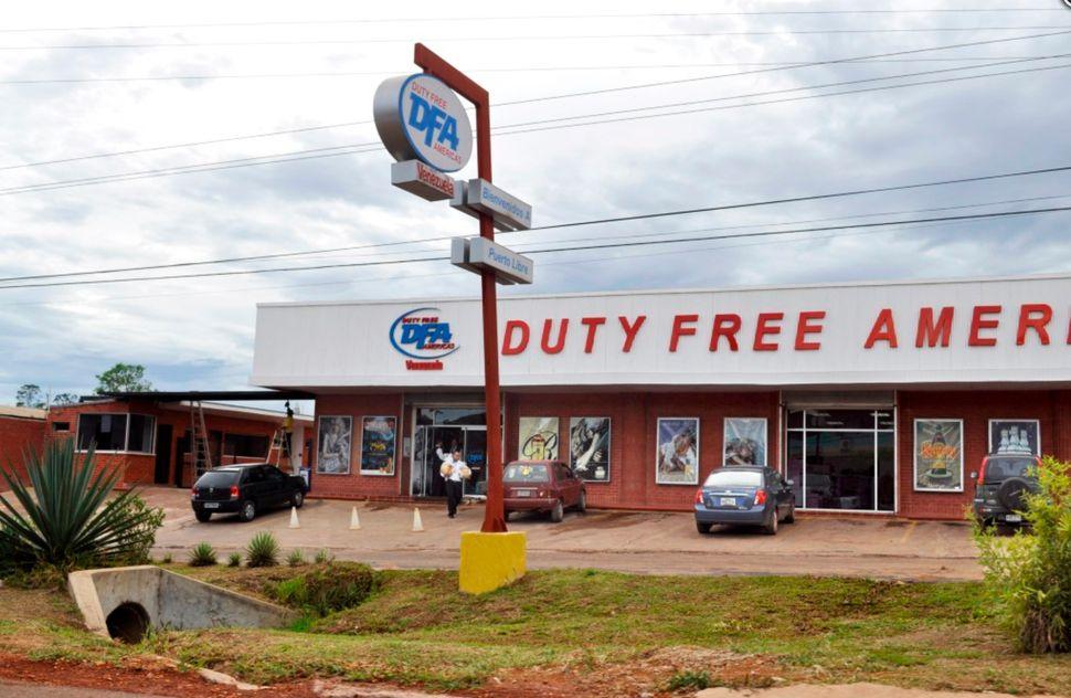 O free shop de Santa Elena de Uairén, quando ainda era um ponto de atração para