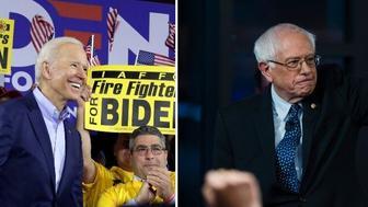 Biden and Bernie