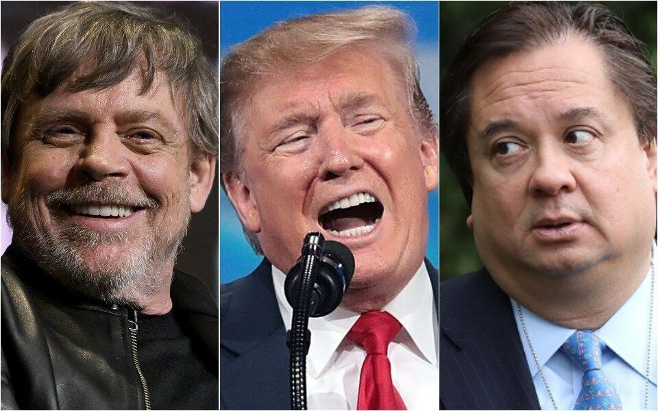 Mark Hamill, Donald Trump, George Conway