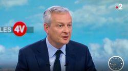 Le Maire vise 180 à 350 d'euros de baisse d'impôt sur le revenu par an et par