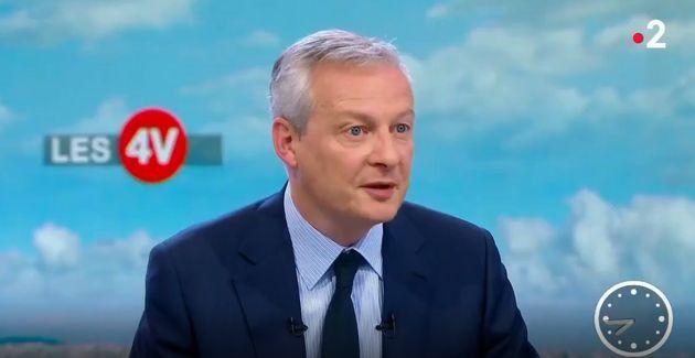 Bruno Le Maire a précisé, ce mardi 29 avril, l'annonce faite par Emmanuel Macron lors de...