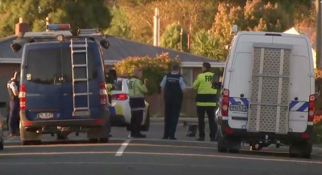 Σύλληψη στο Κράιστσερτς της Νέα Ζηλανδία μετά την εξουδετέρωση εκρηκτικού