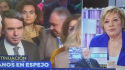 El 'recadito' envenenado de Celia Villalobos a Aznar tras el desastre histórico del