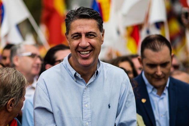 Xavier García Albiol, en una manifestación por la unidad de