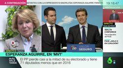 Esperanza Aguirre responde a la gran pregunta del PP: ¿debe dimitir Pablo