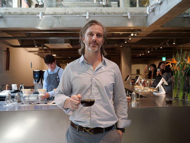 블루보틀 커피 문화 총괄 책임자 마이클