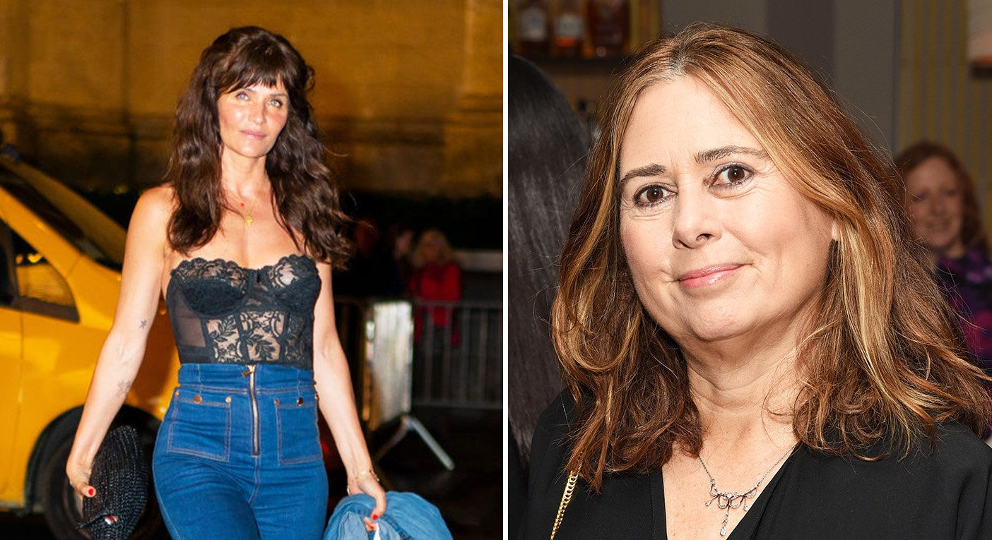 Alexandra Shulman's comments about Helena Christensen have been met with controversy. [Photo: Getty]