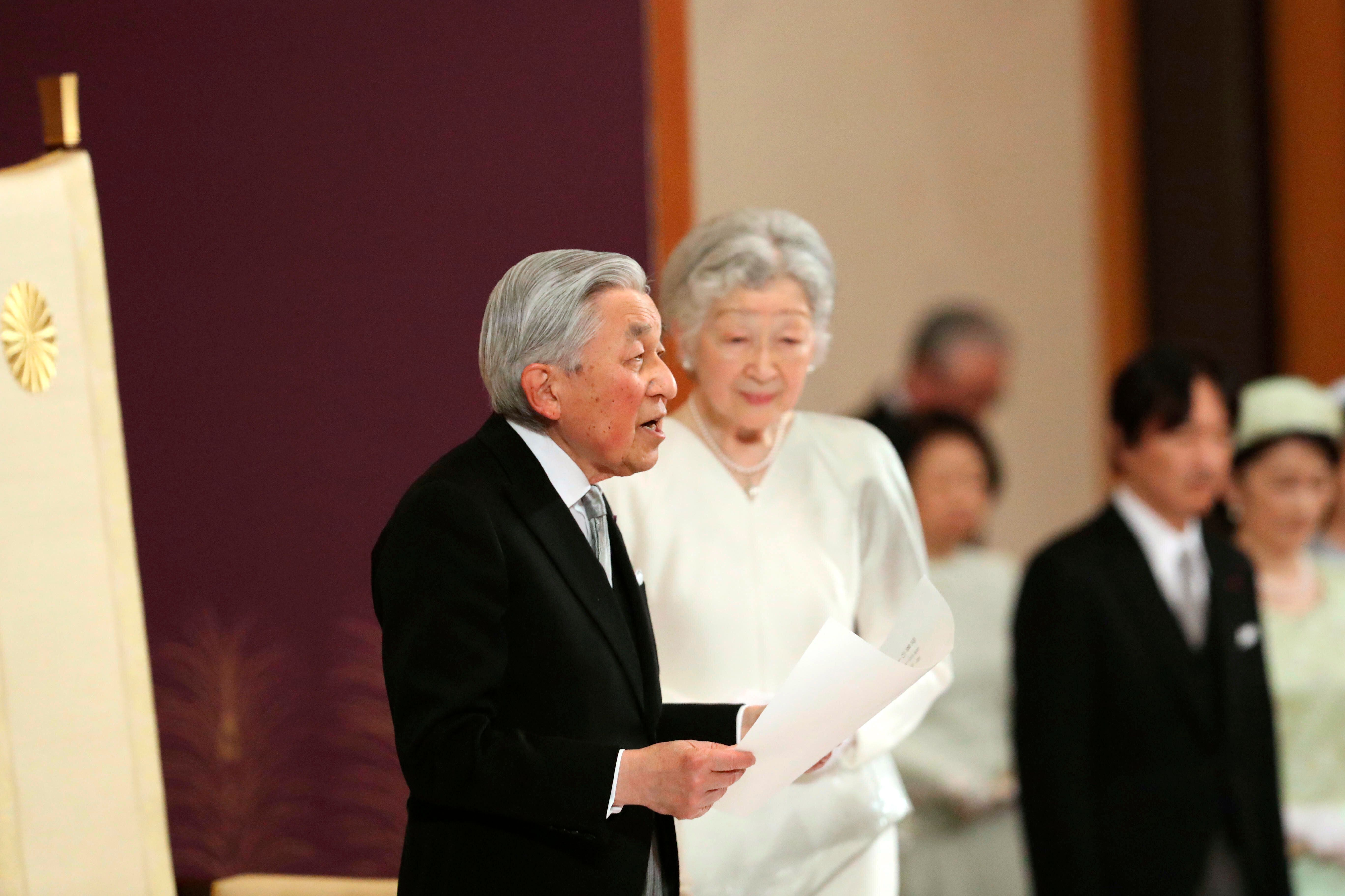 Japan's Emperor Akihito Announces Abdication, Marks End Of Era