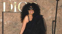 Diana Ross met le feu pour la soirée de clôture du défilé Dior à
