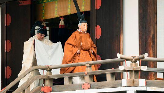 Αλλαγή στο θρόνο των Χρυσανθέμων -Παραιτήθηκε ο Ακιχίντο, νέος αυτοκράτορας της Ιαπωνίας ο