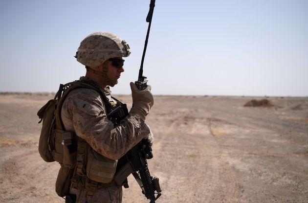 Un soldat américain en Afghanistan, le 28 août