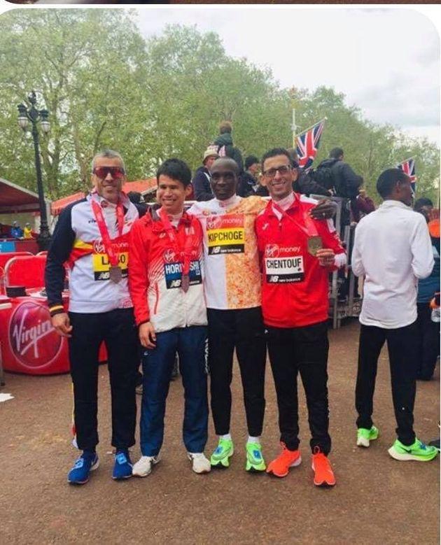 El Amine Chentouf a remporté la médaille d'or dans la catégorie T12...