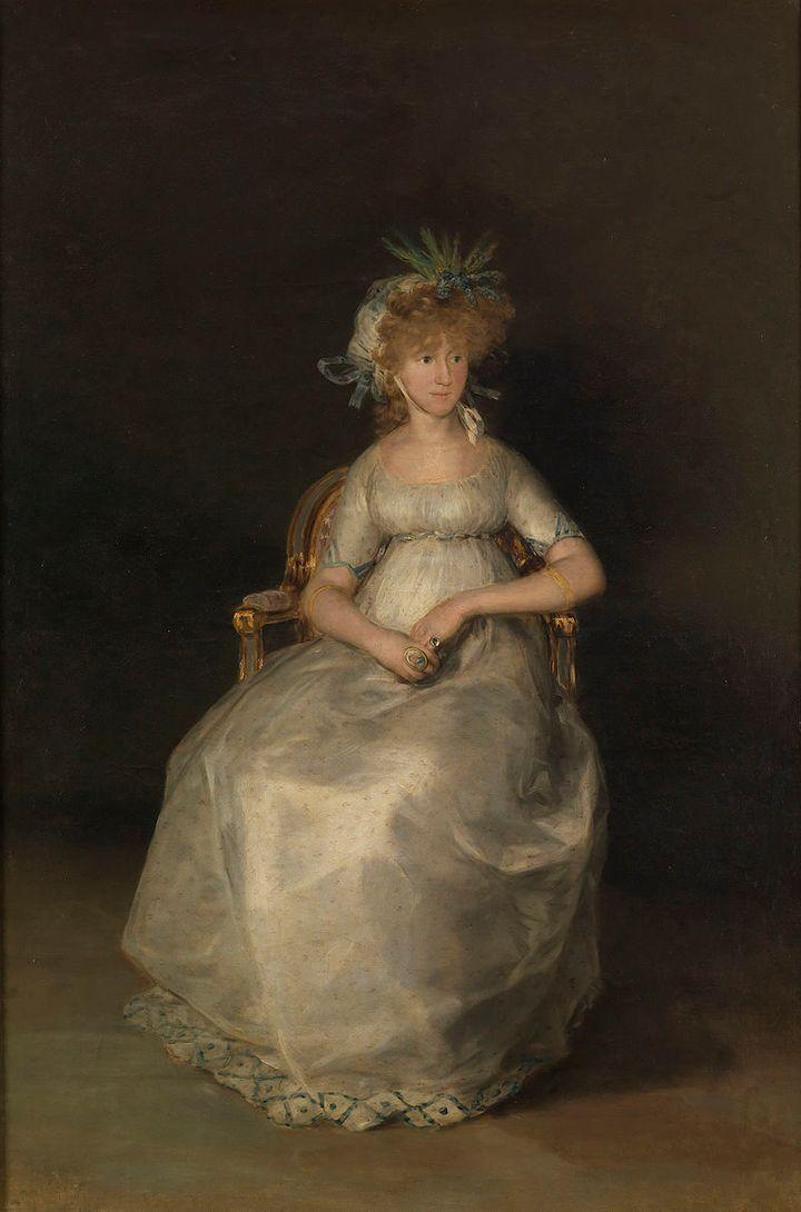 'La Condesa de Chinchón', de Goya (1800).