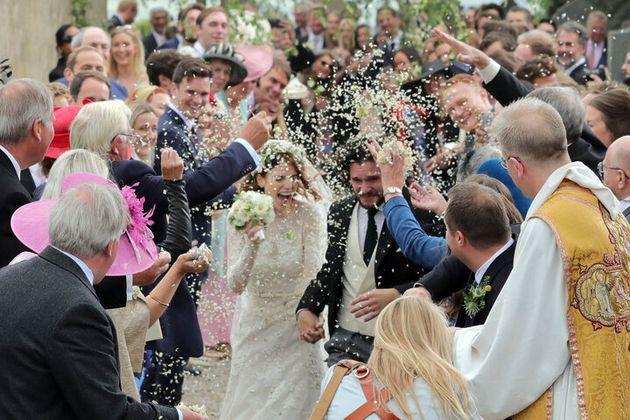 Kit Harington y Rose Leslie se casaron el 23 de junio de 2018 en