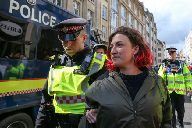 More than 1000 activists were arrested during the group's recent action in