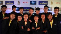 Resgate dos meninos tailandeses da caverna vai virar minissérie da