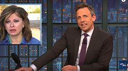Seth Meyers Taunts Donald Trump For Keeping Antsy Fox Host On The