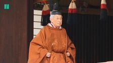 Japanese Emperor Steps Down