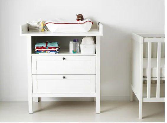 Ikea rappelle ses tables à langer-commode
