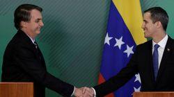 Bolsonaro pede a países apoio a Guaidó para restabelecer 'normalidade' na