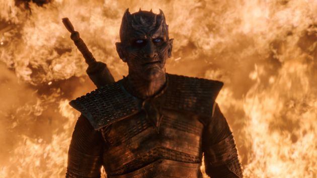 Night King thinks he's going to make his salon appointment. Nah,