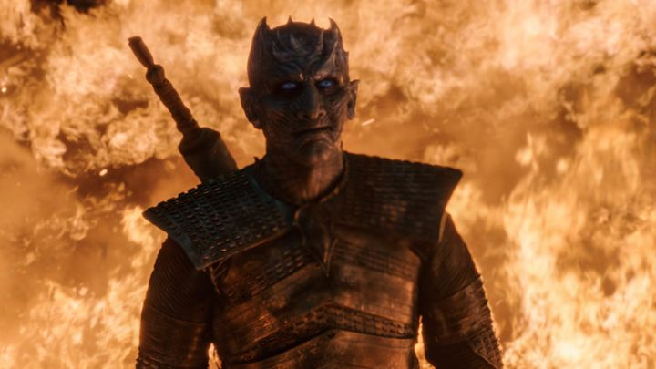 Night King thinks he's going to make his salon appointment. Nah, man.