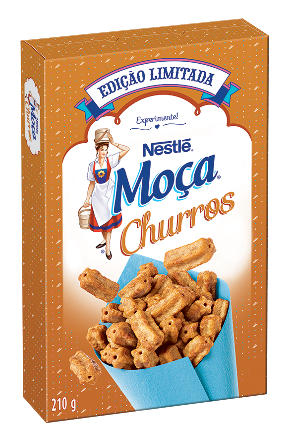 Cereal de Churros: Finalmente criaram uma sobremesa liberada no café da