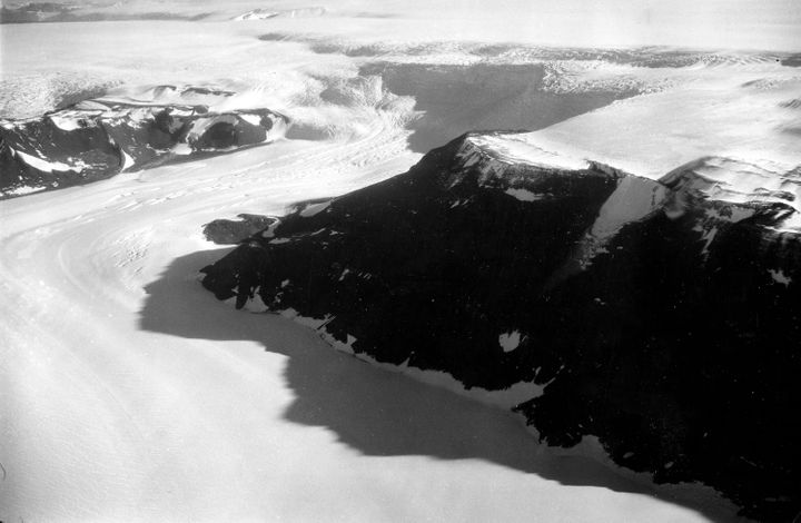 The Ross Ice Shelf stabilizes the West Antarctic ice sheet and blocks ice that flows into it from some of the world's l