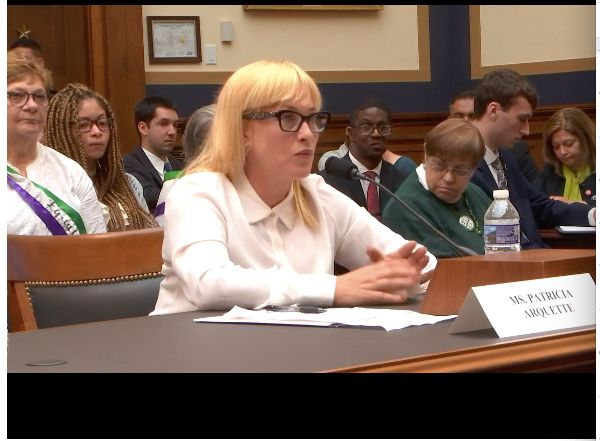 Actress and activist Patricia Arquette spoke before the House Judiciary Committee on Tuesday in support of the Equal Rig
