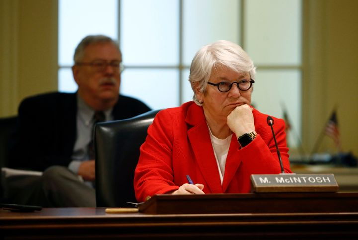 Del. Maggie McIntosh would be both the first woman and first openly gay House speaker of Maryland.