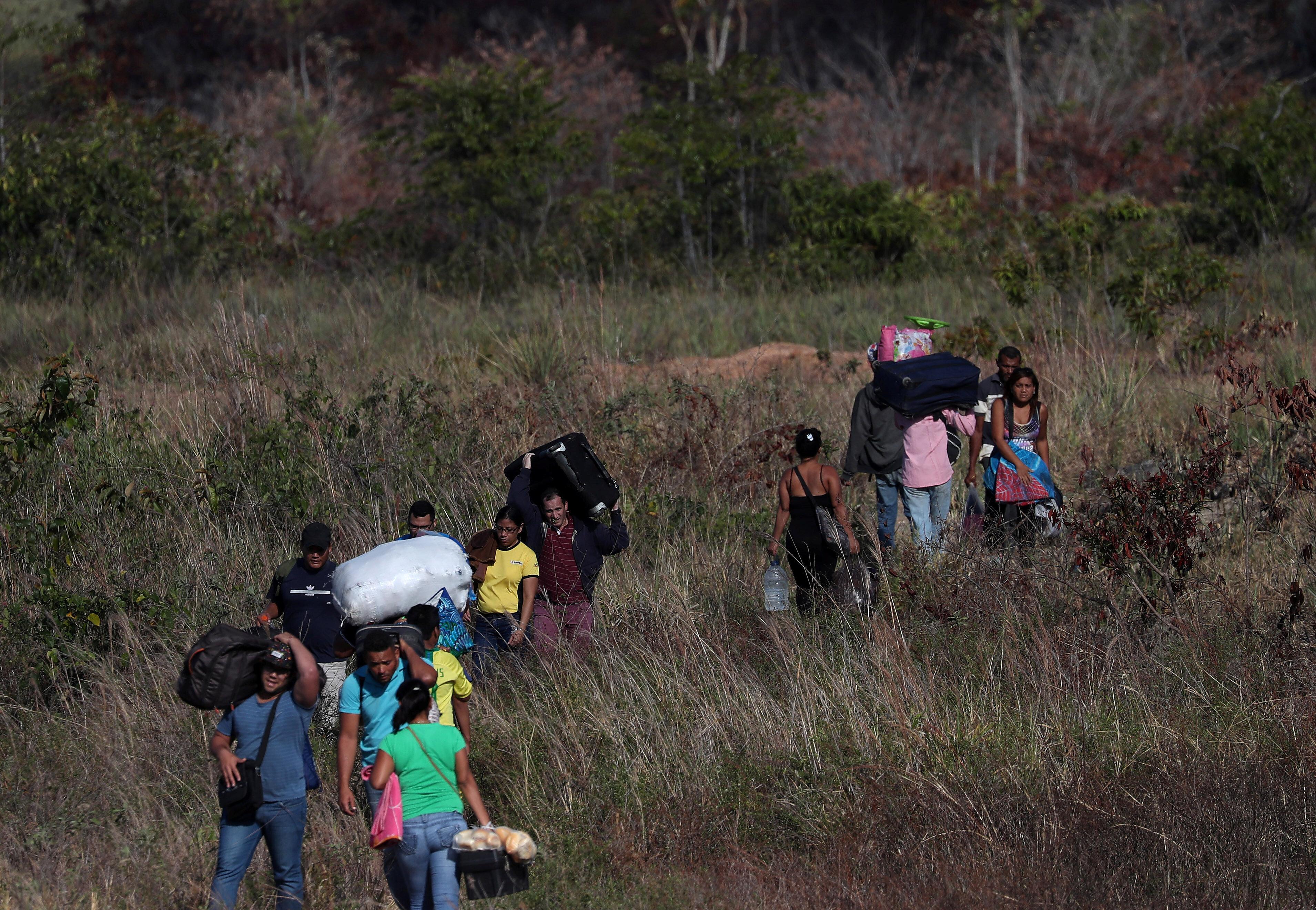 On The Brazil Border, Venezuela's Political Crisis Has Become A Humanitarian Nightmare