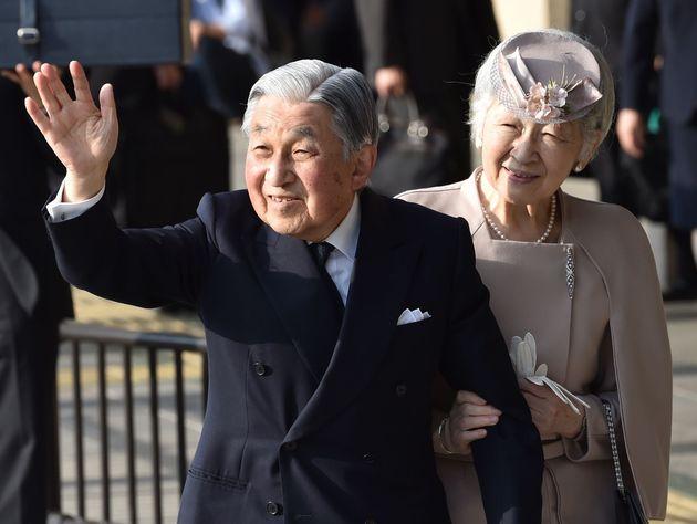 上皇陛下と上皇后陛下