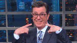 'Move Over, MAGA!' Colbert Mocks Biden's Awkward Response To Trump's
