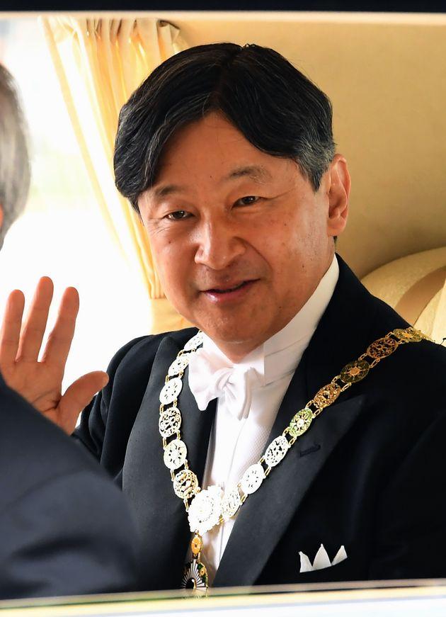 皇居に到着する天皇陛下 2019年5月1日撮影
