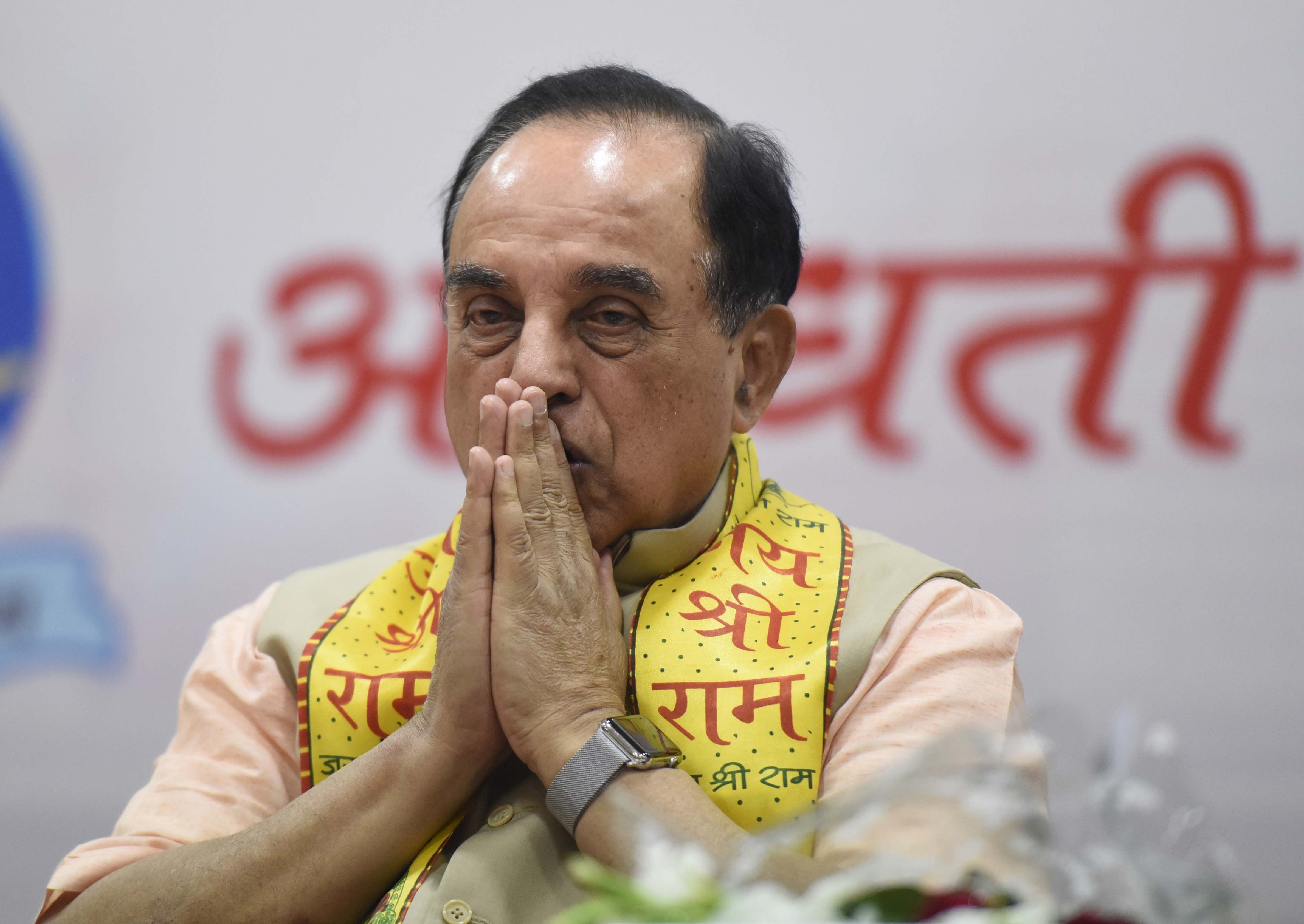 Subramanian Swamy: If BJP Gets 220-230, Modi May Not Be Prime