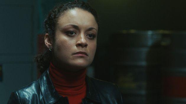 Rochenda Sandall plays OCG member Lisa