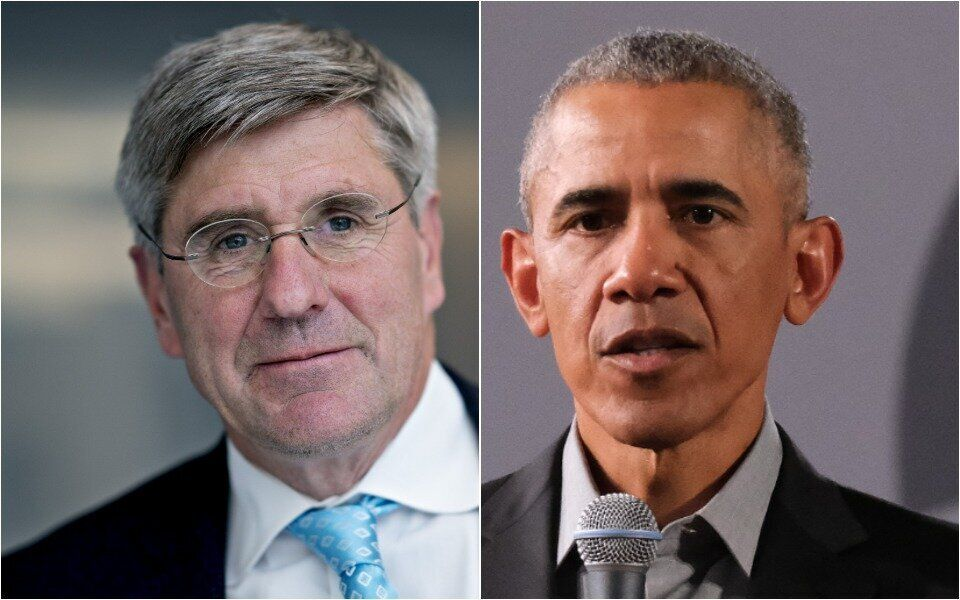 Stephen Moore Gives Painfully Awkward Explanation For Racist Obama