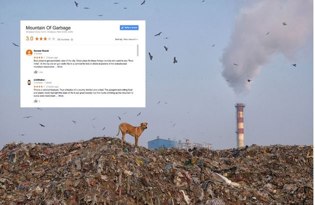 The 'Mountain of Garbage' In Delhi's Ghazipur Has The Best Google