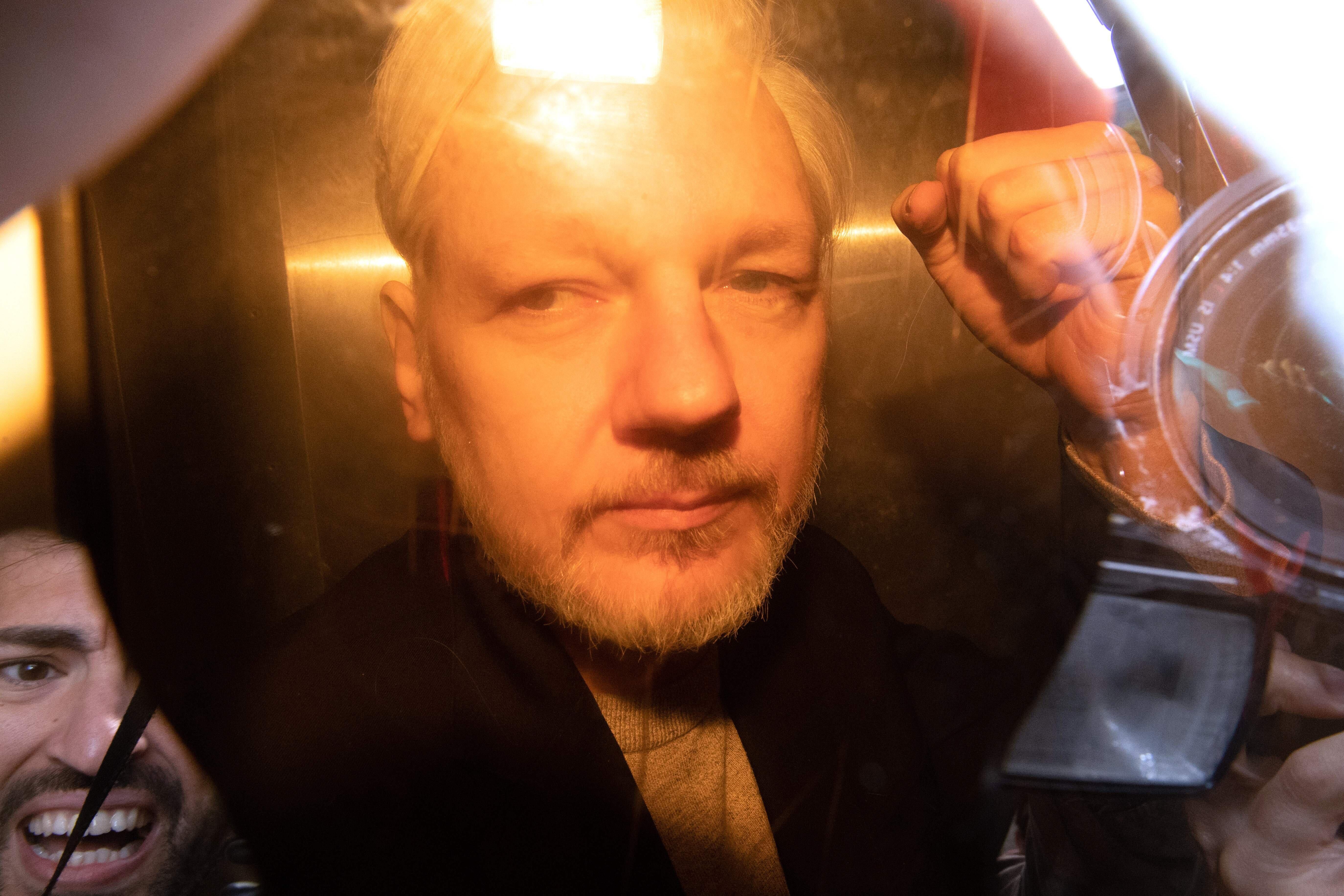 Julian Assange Sentenced To 50 Weeks In Jail For Breaching Bail