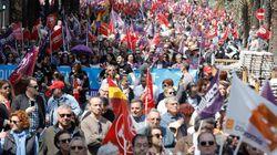 Las mejores fotos de las manifestaciones por el Día del