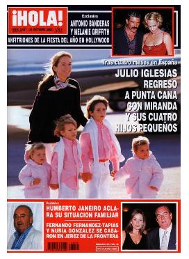 Victoria y Cristina, las gemelas de Julio Iglesias, cumplen 18